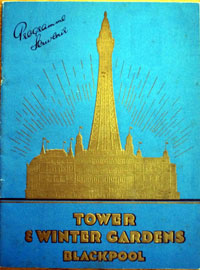 Blackpool Tower and Winter Gardens Brochure 1936