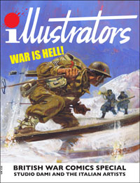 illustrators British War Comics Special - Studio Dami and the Italian Artists (Limited Edition)